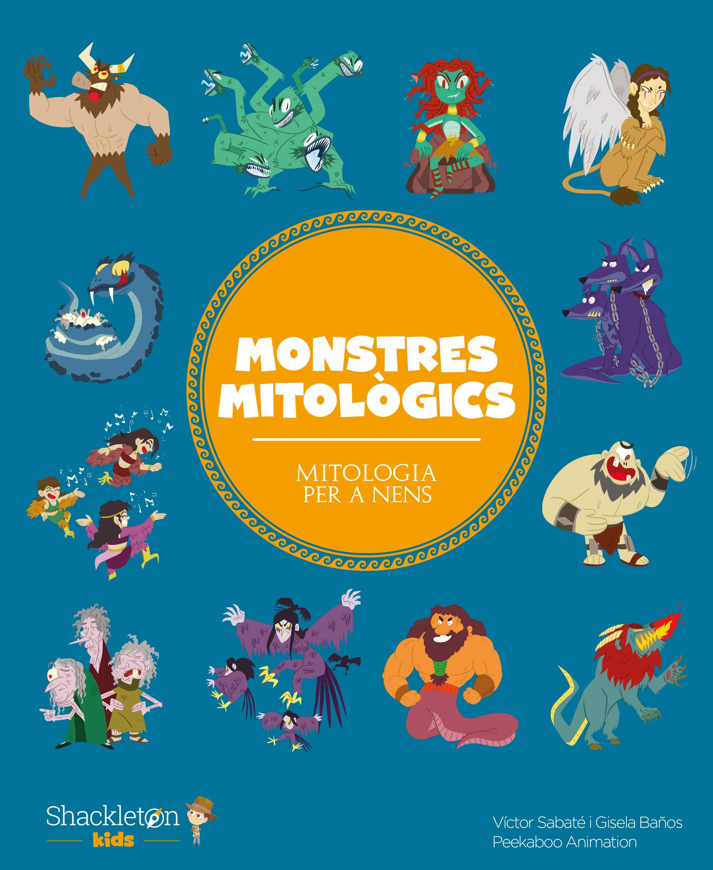 Monstres mitològics (edició català)