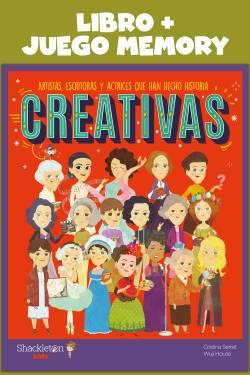 Creativas: Libro + Juego...